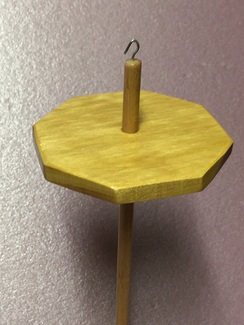 Yellowheart Octagon drop spindle