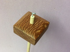 Lacewood drop spindle 2