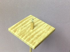 Maple drop spindle 2