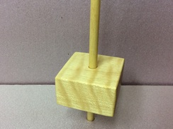 Maple support spindle 2