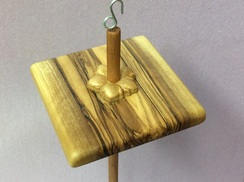 Olivewood & Posey drop spindle