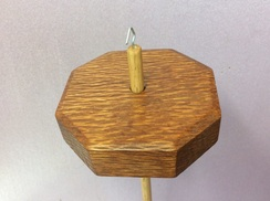 Lacewood Octagon drop spindle