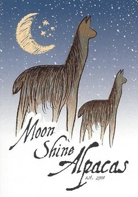 Moon Shine Alpacas - Logo