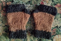 Photo of Fingerless Alpaca Mitts