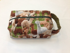Project bag for knitters, crocheters