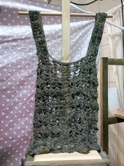 Photo of Grey Alpaca Tank Top