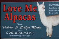 Love Me Alpacas - Logo