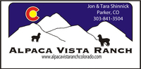 Alpaca Vista Ranch - Logo