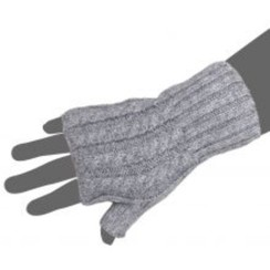 Fingerless Cabled Gloves-Includes Shpg