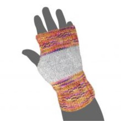 Fingerless Alpaca Gloves-Includes Shpg.