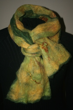 Photo of Hand Felted Alpaca Scarves