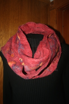 Photo of Infinity Alpaca Hand Felted Scarves