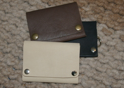 Photo of Alpaca Leather Wallet - Small