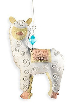 Alpaca Ornament (Whimsical metal)