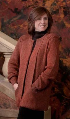 Photo of Ladies Ebel Blended Cardigan