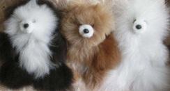 "Photo of Alpaca Teddy Bear- 6"""