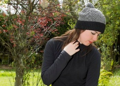Photo of Gisell Cable Alpaca Hat