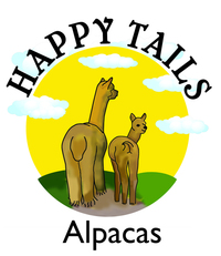 Happy Tails Alpacas - Logo