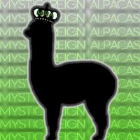 Mystic Reign Alpacas   - Logo