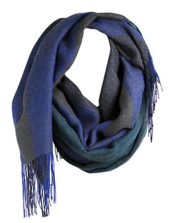 Photo of Alpaca Scarf - Liviano - Blue Stone