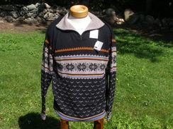 Men's Pullover Fleece 100% Alpaca Fleece