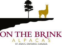 On The Brink Alpacas - Logo