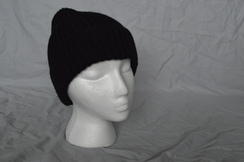 Photo of HAT  --ALPACA BASIC KNIT HAT