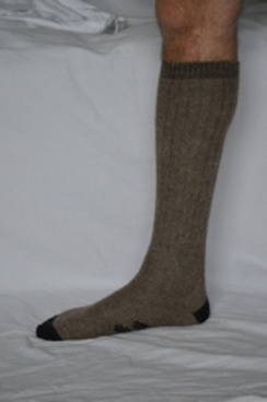 Photo of SOCK  -- ALPACA BOOT SOCK