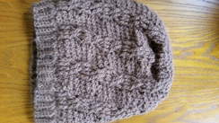 "Photo of Alpaca Hobo Bohemian ""Josephine"" Hat"