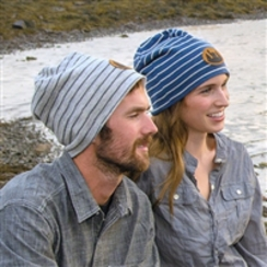 ADULT FEED STRIPE BEANIE
