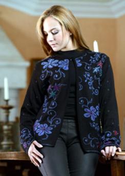 Eclipse Reversible Cardigan Sweater
