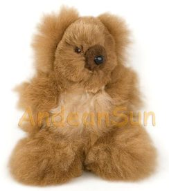 "Photo of 5.5"" Alpaca Teddy Bear"