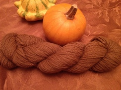 Photo of WALLACE yarn, dark fawn, SUPERFINE