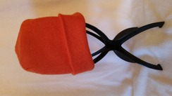 Hunter Orange Knit Hat