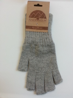Photo of Fingerless Classic Blend Alpaca Gloves