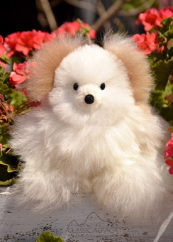 Photo of BABY Alpaca Fur Teddy Bear-10""