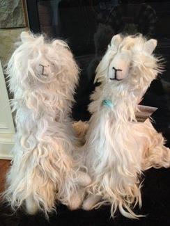 Stuffed suri alpaca