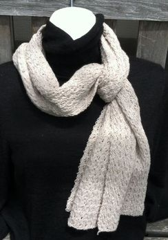 Photo of Lace Knit Scarf