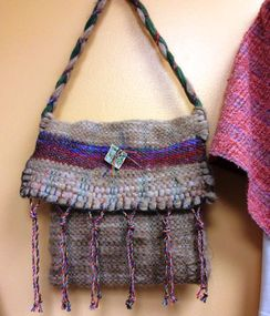 Hand Woven Messenger Bag