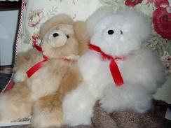 """Bear - Alpaca 10"""" Teddy Bears"""