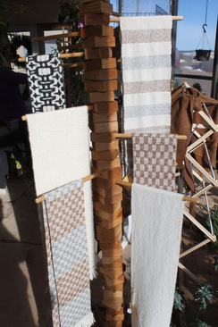 Photo of Hand woven scarves by Bhakti Ziek