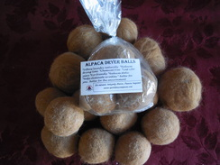 100% Alpaca Dryer Balls