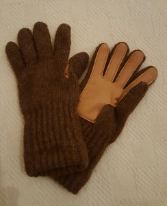 Deerskin Alpaca Driving Gloves