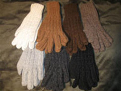 Photo of Hand Knit Cable Gloves
