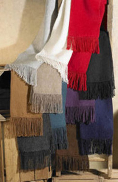 Photo of Woven 100% Alpaca scarves