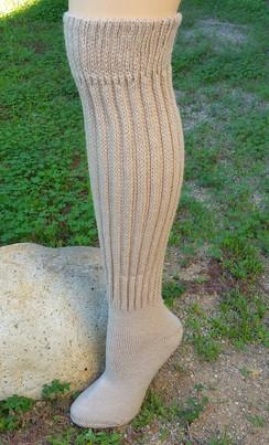 Knee-Hi alpaca blend  socks