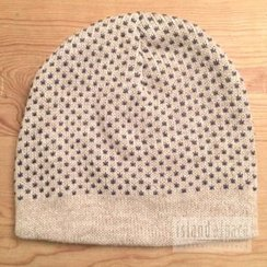 Photo of 100% Alpaca Fleck Beanie Style Hat