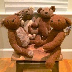 Alpaca Hand-Felted Teddy Bear