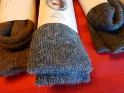 Photo of Mens Loose Top Alpaca Sock