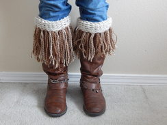 Photo of 100% Alpaca Boot Cuffs